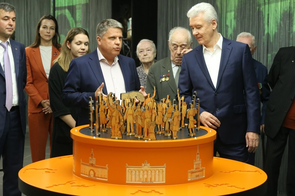 Собянин на открытии Музея ВДНХ